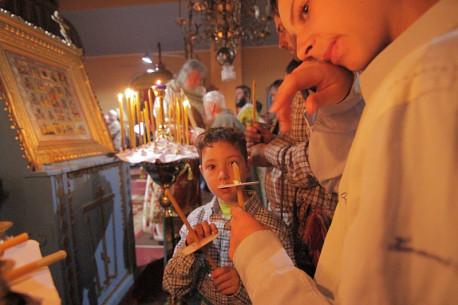 Învierea 2019 la Biserica lipoveneascã – ȋn slujba unei solemnitãţi arhaice
