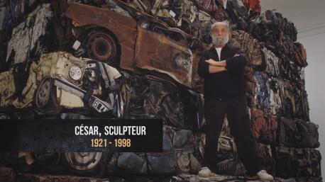 Fierul vechi intră triumfal în post-modernism prin arta lui César