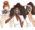Trei femei fotograf (Three women photographer)