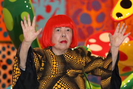 O bombă atomică în artă: Yayoi Kusama